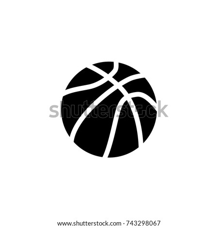 basketball icon, basketball icon vector, in trendy flat style isolated on white background. basketball icon image, basketball icon illustration