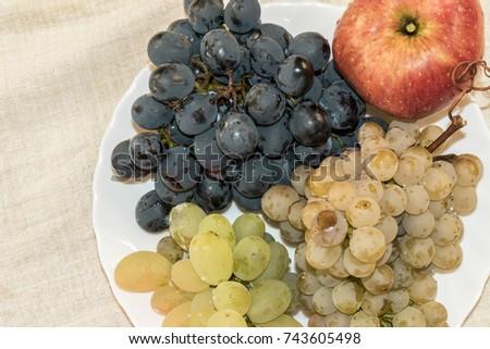 Autumn fresh fruits. #743605498