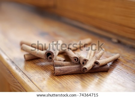 cinnamon sticks #74364715