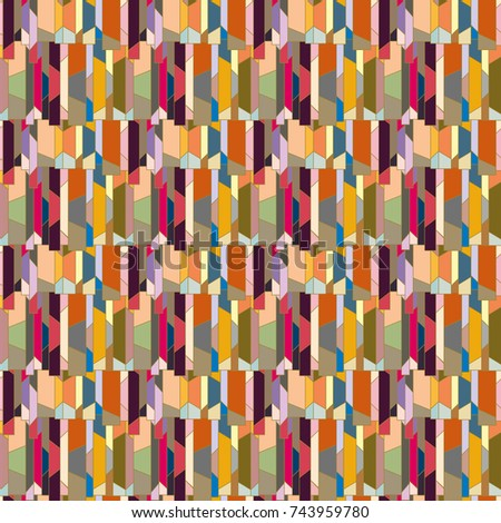 Abstract color seamless pattern for new background. #743959780