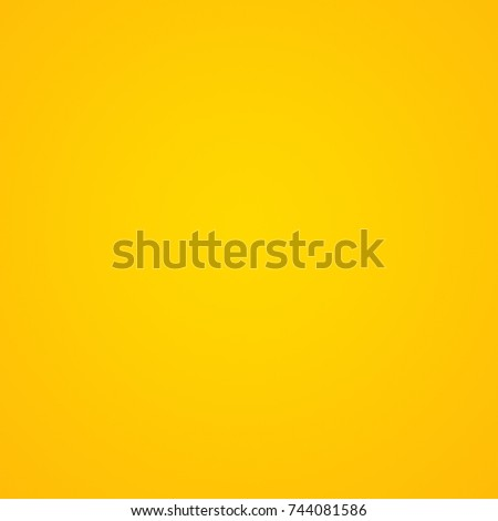 Abstract luxury vintage orange gradient background look like sun and empty studio room for display product ad website template  #744081586