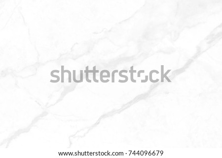 White marble texture in natural pattern with high resolution for background and design art work. White stone floor. #744096679