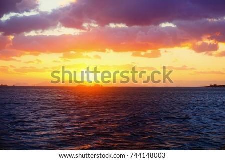 Sunset  #744148003