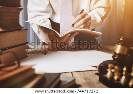 The private office of an Asian young lawyer who is currently working on financial information in private banks. To monitor financial accounts and assist clients. #744719272