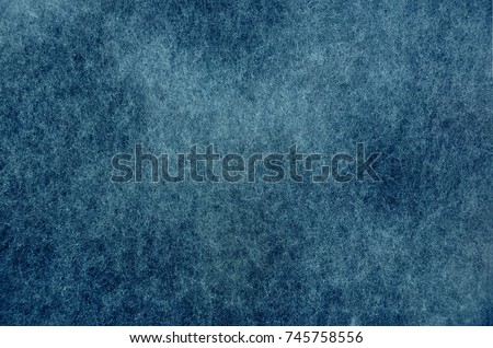 Mold background painted in blue with soft focus. Old dramatic dark texture and blue abstract grunge background.  #745758556