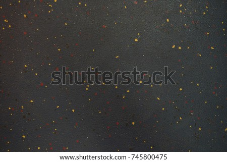 Black Rock surfaces decorated with small marble.  #745800475