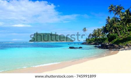 tropics beach sea sand #745991899