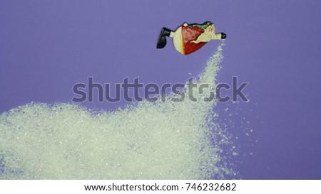 Santana brings snow, December, winter is coming #746232682
