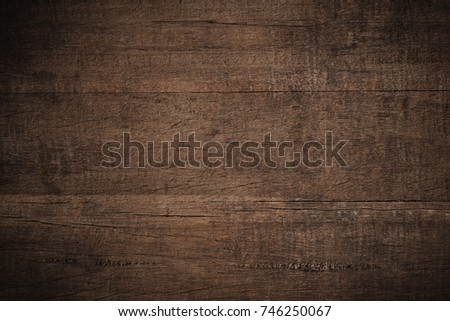 Old grunge dark textured wooden background,The surface of the old brown wood texture #746250067