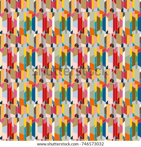 Abstract color seamless pattern for new background. #746573032