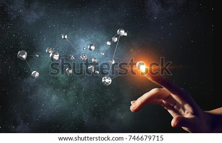 Technologies for connection . Mixed media Royalty-Free Stock Photo #746679715