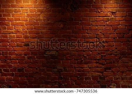 old brick wall #747305536