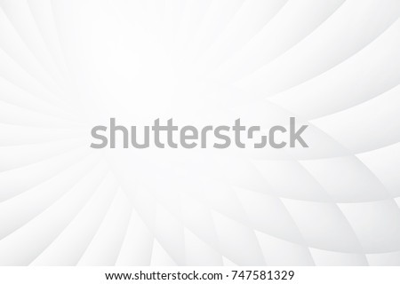 Abstract geometric white and gray color background. Vector, illustration. Royalty-Free Stock Photo #747581329