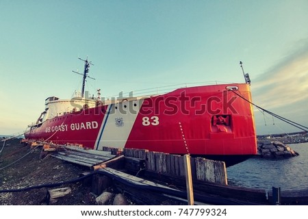 U.S. Coast Guard Cutter Mackinaw - Retired #747799324
