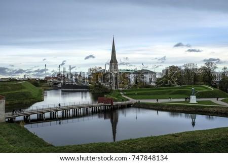 Old Kastellet of Copenhagen, Denmark, Europe #747848134