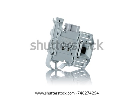 washing machine spare parts on a white background #748274254