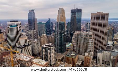 Minneapolis Skyline - Cityscape