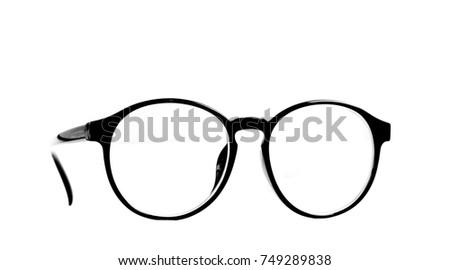 Eye Glasses on White background. #749289838