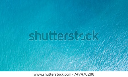 sea from a drone Royalty-Free Stock Photo #749470288