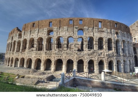 Colosseum in Rome #750049810