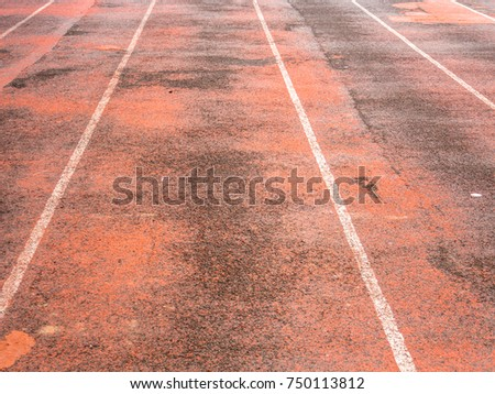 Abstract racetrack texture and background. #750113812