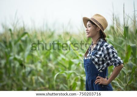 Thai Farmer Woman #750203716