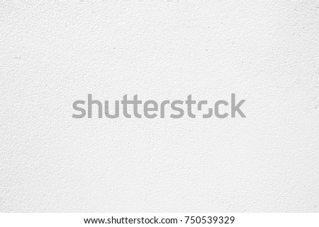 White Concrete Wall Background. #750539329