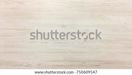 Light soft wood surface as background, wood texture. Wood plank #750609547