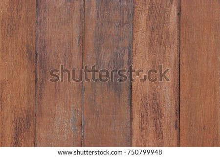 Brown wooden door. Old and moldy. Use for background or banner website and template. Beautiful pattern. #750799948