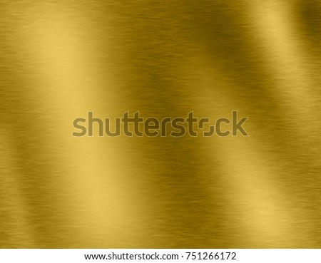 Abstract Gold metal brushed background or texture #751266172