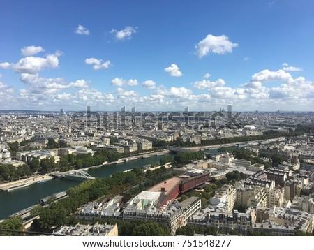 Eiffel Tower Views #751548277