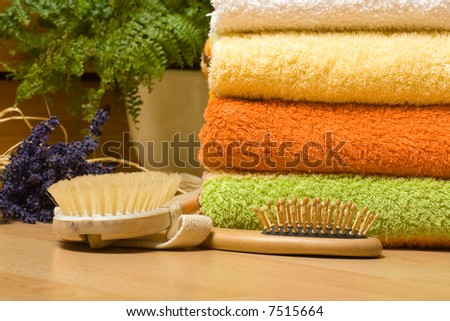 scenes of relaxation and body treatment #7515664