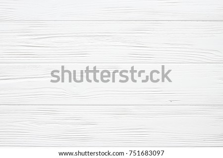White wooden background, texture #751683097