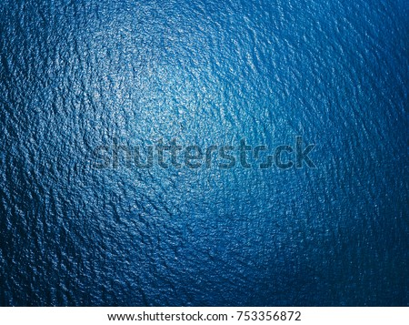 Sea surface aerial view #753356872