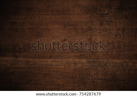 Old grunge dark textured wooden background,The surface of the old brown wood texture #754287679