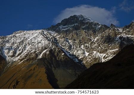 Mountaing in Kazbegi, Georgia #754571623