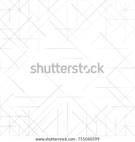 Simple Geometric Background. Triangles pattern. Vector illustration Royalty-Free Stock Photo #755060599