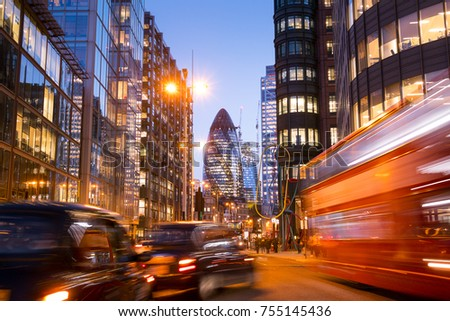 London office building skyscraper, working & meeting Royalty-Free Stock Photo #755145436