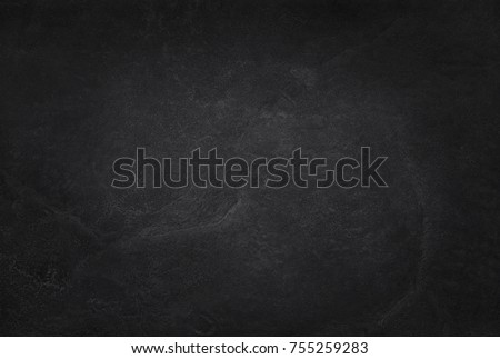 Dark grey black slate texture in natural pattern with high resolution for background and design art work. Black stone wall. #755259283