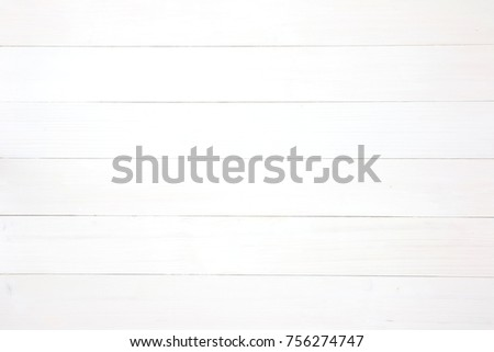 White wooden background planks texture. Horizontal composition. #756274747