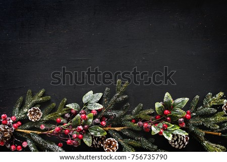 Christmas design space wallpaper