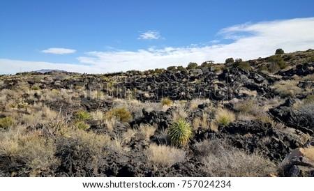 Desert Lava Flow #757024234
