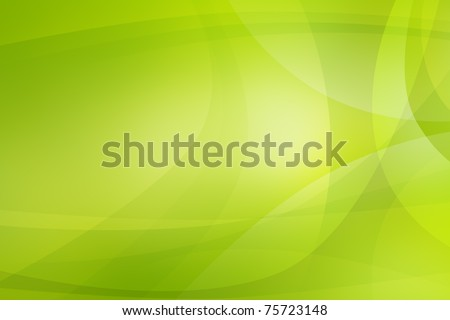 Green light abstract background