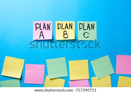 Plan a b c on office stickers and blank office stickers #757390711
