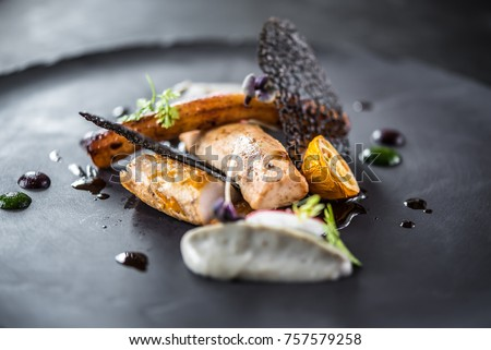 food elegant black plate #757579258
