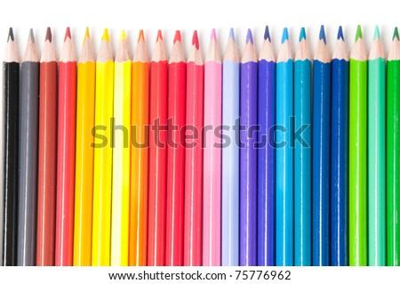 Multicolored pencils #75776962
