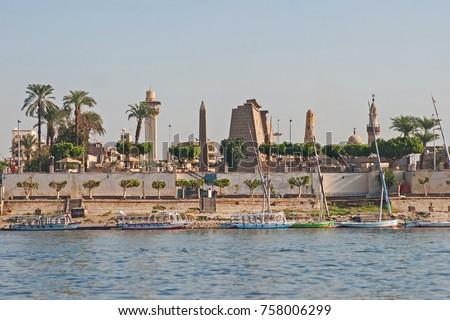 River Nile Luxor #758006299