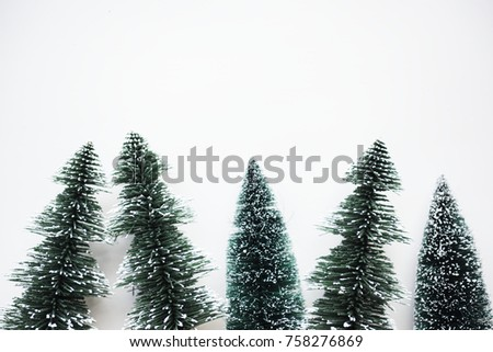 Chirstmas trees with design space background #758276869