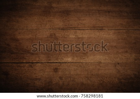 Old grunge dark textured wooden background,The surface of the old brown wood texture #758298181