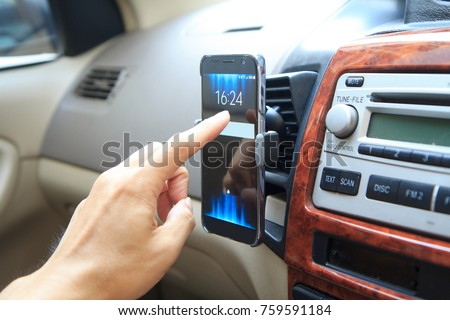 Touch screen of smarphone holder air vent mount  #759591184